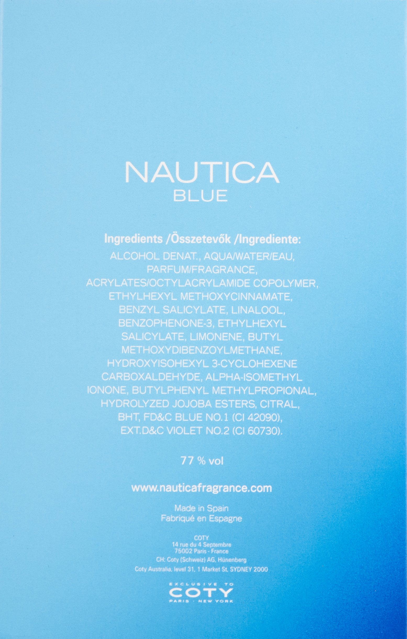Nautica Blue Eau De Toilette Spray for Men, 3.4 fluid ounce by Nautica (Image #2)