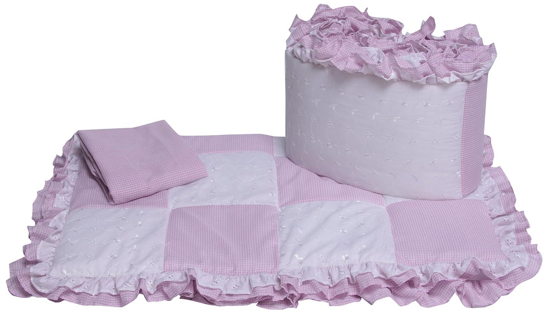 Baby Doll Bedding Mini Crib/ Port-a-Crib Bedding Set, Lavender by BabyDoll Bedding   B005MAULV6