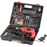 Skil 6513 JJ 550 watts 13 mm Impact Drill Machine (138 Pieces)