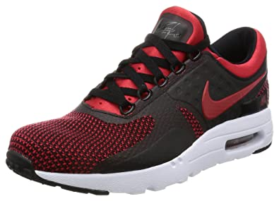 quality design dbe2a 80f09 Nike Mens Air Max Zero Essential Lightweight Running Shoes Red 8.5 Medium  (D)