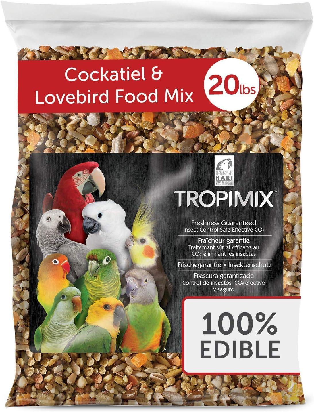 Hari Tropimix Bird Food for Cockatiels & Lovebirds