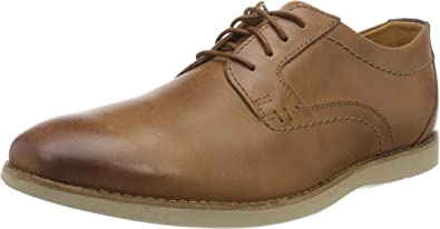 TALLA 42.5 EU. Clarks Raharto Plain, Zapatos de Cordones Derby para Hombre