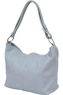 3e9d3c82f2 Ambra Moda GL005 - Borsa con tracolla, borsa a mano in pelle, borsa da