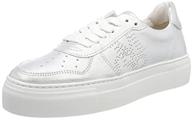 Damen Sneaker 80114463502101, Silber (Silver), 41 EU Marc O'Polo