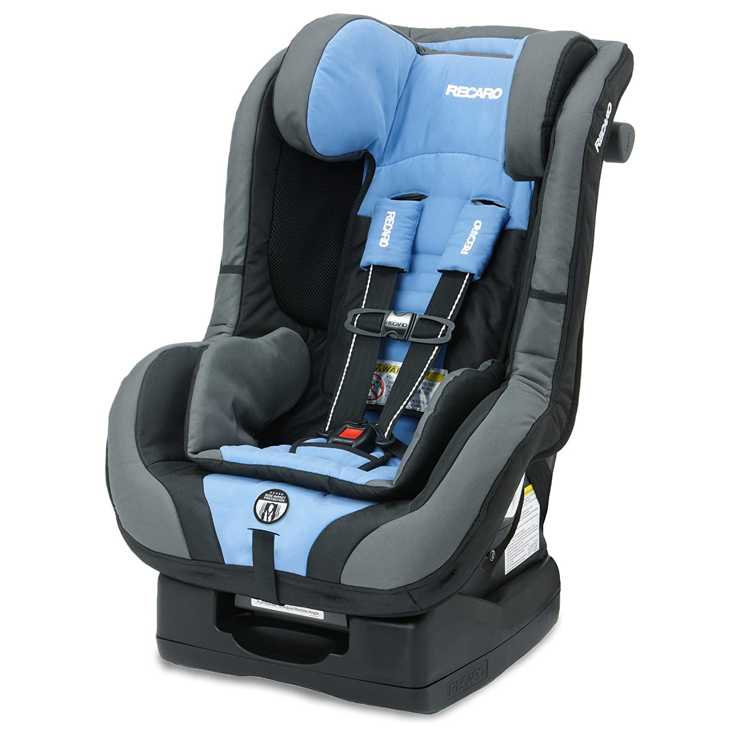 Amazon.com : RECARO ProRIDE Convertible Car SeatBlue, Opal : Baby