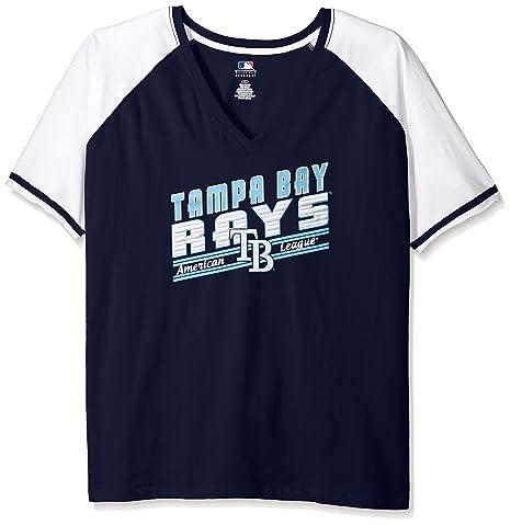 31724cad7 Amazon.com   Profile Big   Tall MLB Tampa Bay Rays Women s Team ...