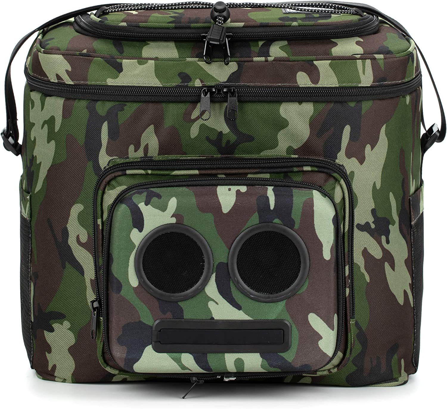 Cooler with Speakers Camo