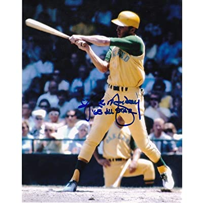 huge discount dae06 8f749 RICK MONDAY OAKLAND A'S 1968 ALL STAR ACTION SIGNED 8x10 ...