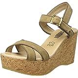 f369f7fff9b SHOOT Shoes Sh-160181b Damen Sommer Keil Leder Sandale Plateau ...