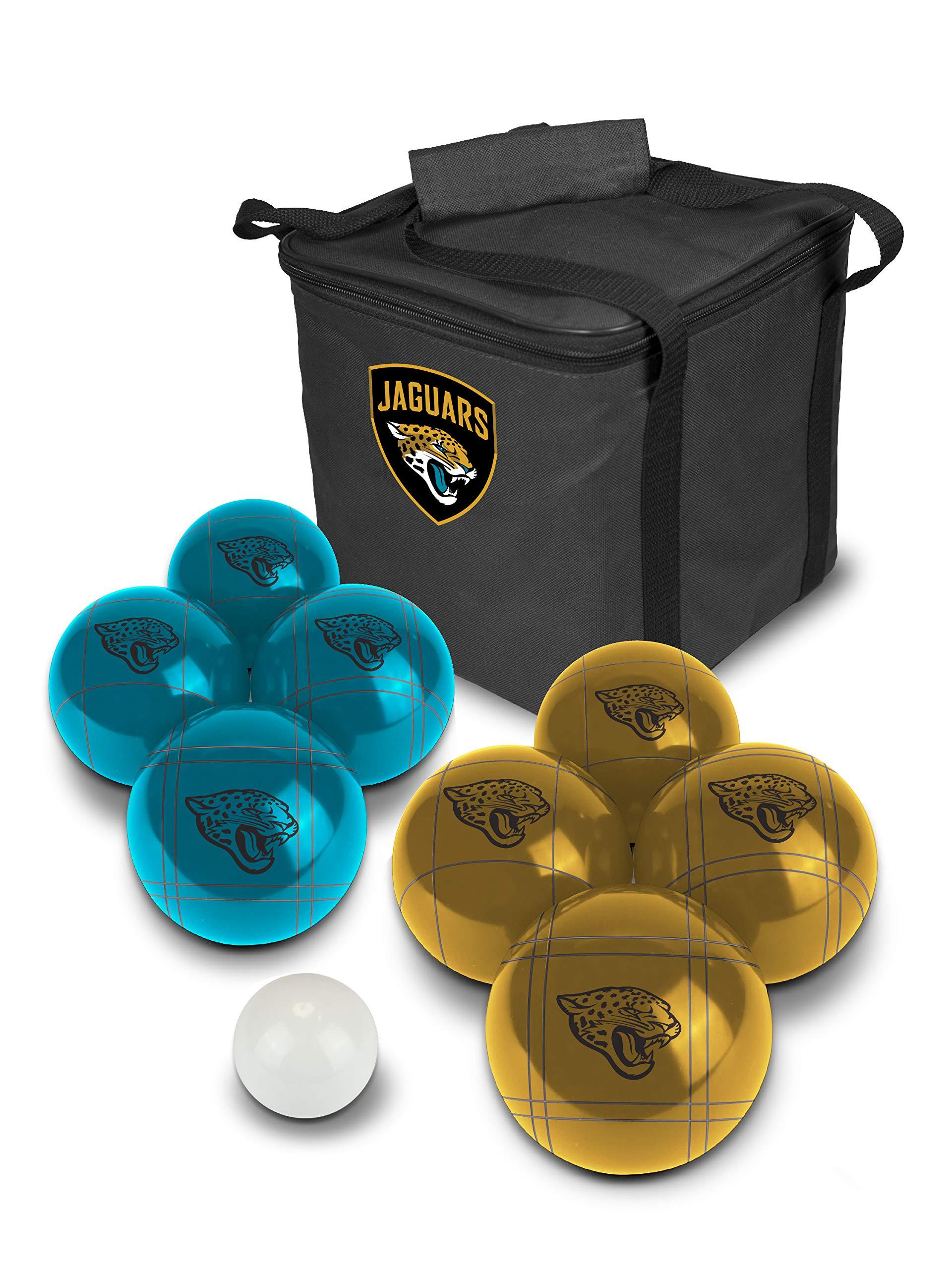 PROLINE NFL Jacksonville Jaguars Bocce Ball Set by PROLINE (Image #1)