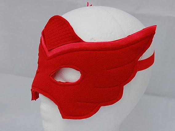 Owlette alas y disfraz de máscara - Owlette - Owlette PJ máscara: Amazon.es: Ropa y accesorios