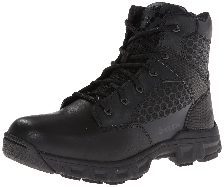 Batesメンズコード6.6 inch Side Zip軽量Tactical Boot B00I5A03H2 9 XW US|ブラック ブラック 9 XW US