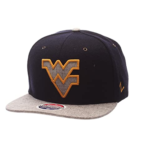 promo code d7c91 6785d Image Unavailable. Image not available for. Color  Zephyr NCAA West  Virginia Mountaineers Adult Men s Executive Snapback Hat ...