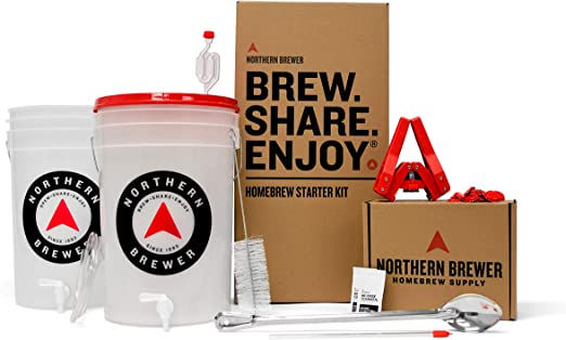 Northern Brewer - HomeBrewing Starter Set, Equipment and Recipe for 5 Gallon Batches