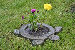 Sold Mold for Concrete Turtle Tortoise Mould Decorative Flower Garden Protection #F01