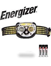 Energizer LED Headlamp Flashlight, Ultra Bright High Lumens, for Camping, Running, Hiking, Sports, Outdoor Head Lamp