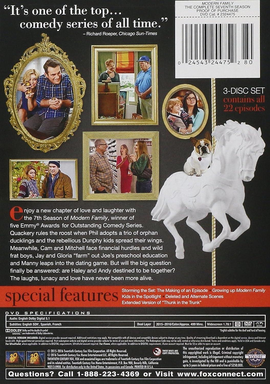 Amazon.com: Modern Family Season 7: Julie Bowen, Sofia Vergara, Ed O ...