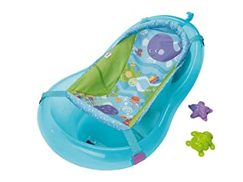 Fisher Price T Baignoire Evolutive  Bleue