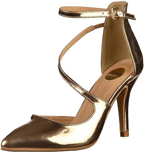 f57b331dcbf Buffalo 1251035 - Zapatos de tacón con Punta Cerrada de Sintético Mujer   Amazon.es  Zapatos y complementos