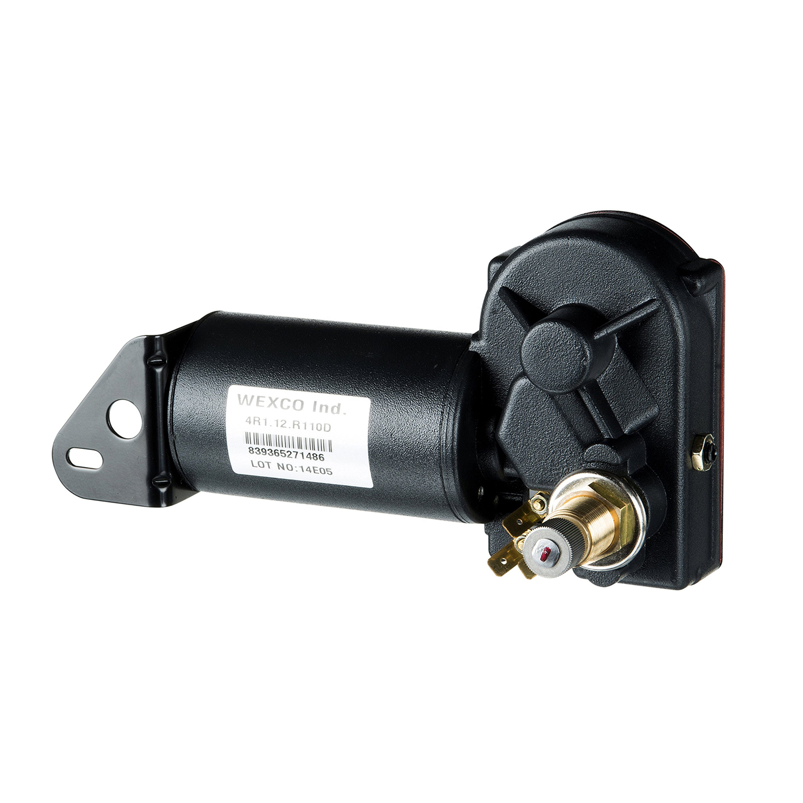 Wexco 4R1.12-19S2.R110D 1.5'' Wiper Motor with 2-Speed Switch, 12V by Wexco