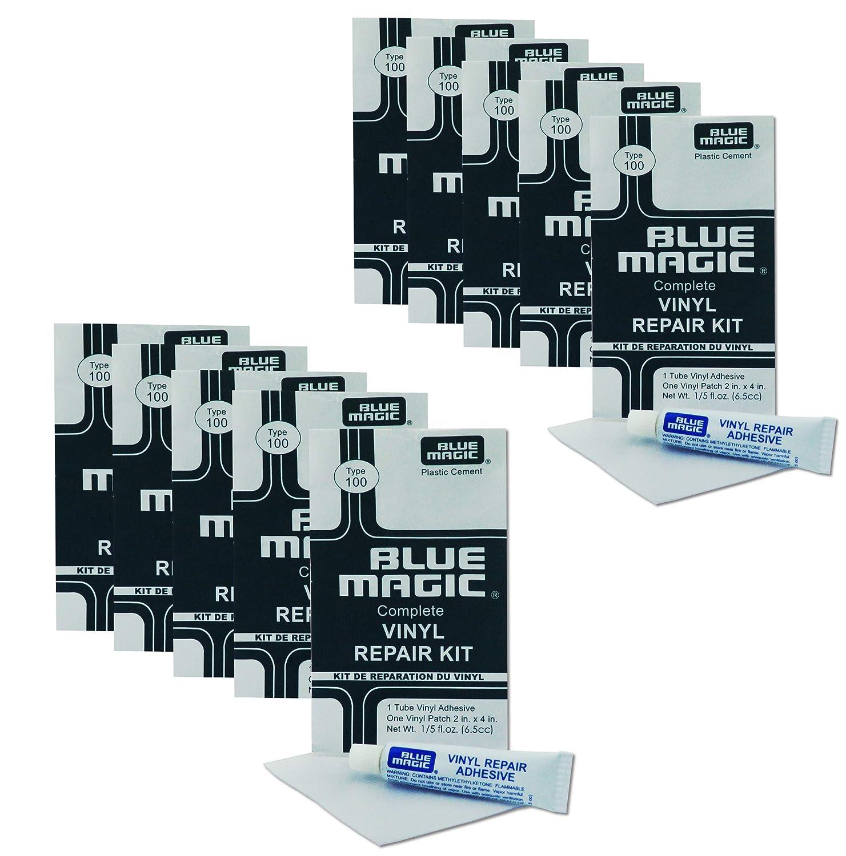 Blue Magic 10 x kit de r/éparation kit de r/éparation pour Matelas /à Eau//Piscine//pataugeoire Ballon//etc.