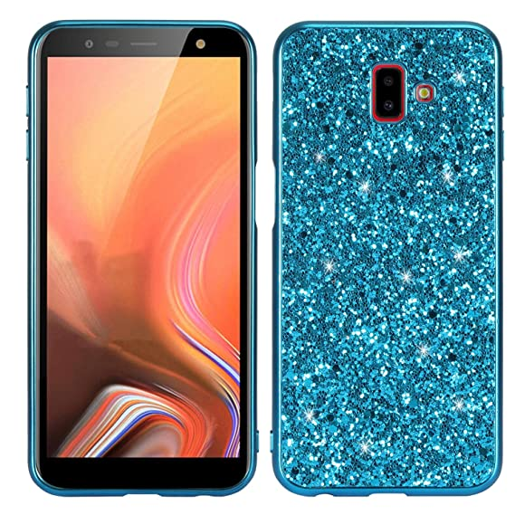 size 40 e7c22 617fa Samsung J6 Plus Case,DAMONDY Glitter Shiny Bling Diamond Bumper Slim  Flexible Soft Gel TPU Women Girls Protective Phone Case Cover for Samsung  Galaxy ...