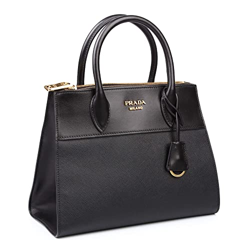 8fc2f5199f84 PRADA Bags Cross Body Shoulder Tote Handbags Black Saffiano Leather 100%  authentic: Amazon.ca: Shoes & Handbags
