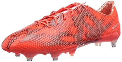 buy popular 918a1 dc91e adidas F50 Adizero SG, Chaussures de Football Homme, Rouge (Solar Red FTWR