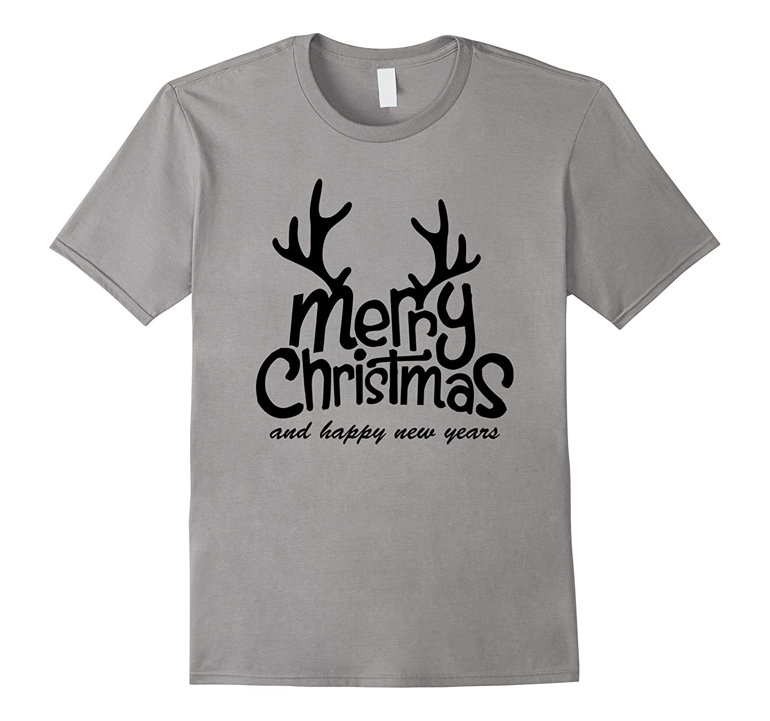 Men Women Gift T-Shirt, Merry Christmas And Happy New Year-CL