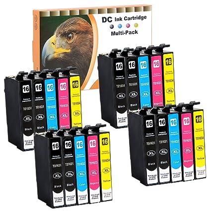 20 Cartuchos de Tinta Cartuchos de impresora (No Original ...