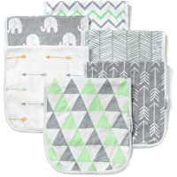 BaeBae Goods Burp Cloths for Baby Boy & Girl - Ultra Absorbent Burping Rags - Anti...