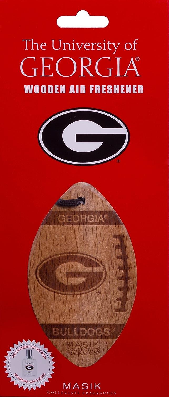 University of Georgia- Wooden Football Air Freshener