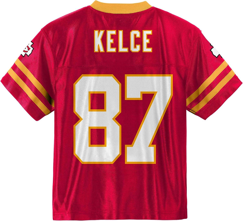 Travis Kelce Kansas City Chiefs #87 Red