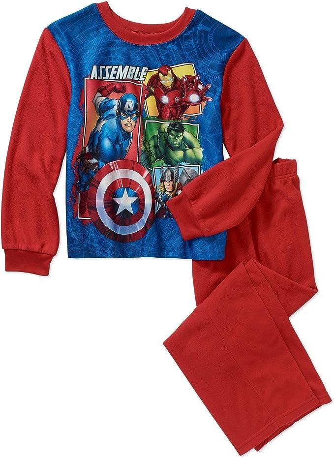 Offcial Kids Characters Disney Marvel Boys Girls 2pcs PJs Sleepwear Pyjamas Set