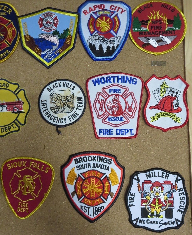 Amazon com: SOUTH DAKOTA FIRE/RESCUE DEPARTMENT PATCHES! LOT