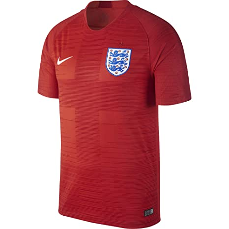 more photos 96cba 33c61 Nike Men s England Stadium Away Jersey, Challenge Gym Red White, X-Large