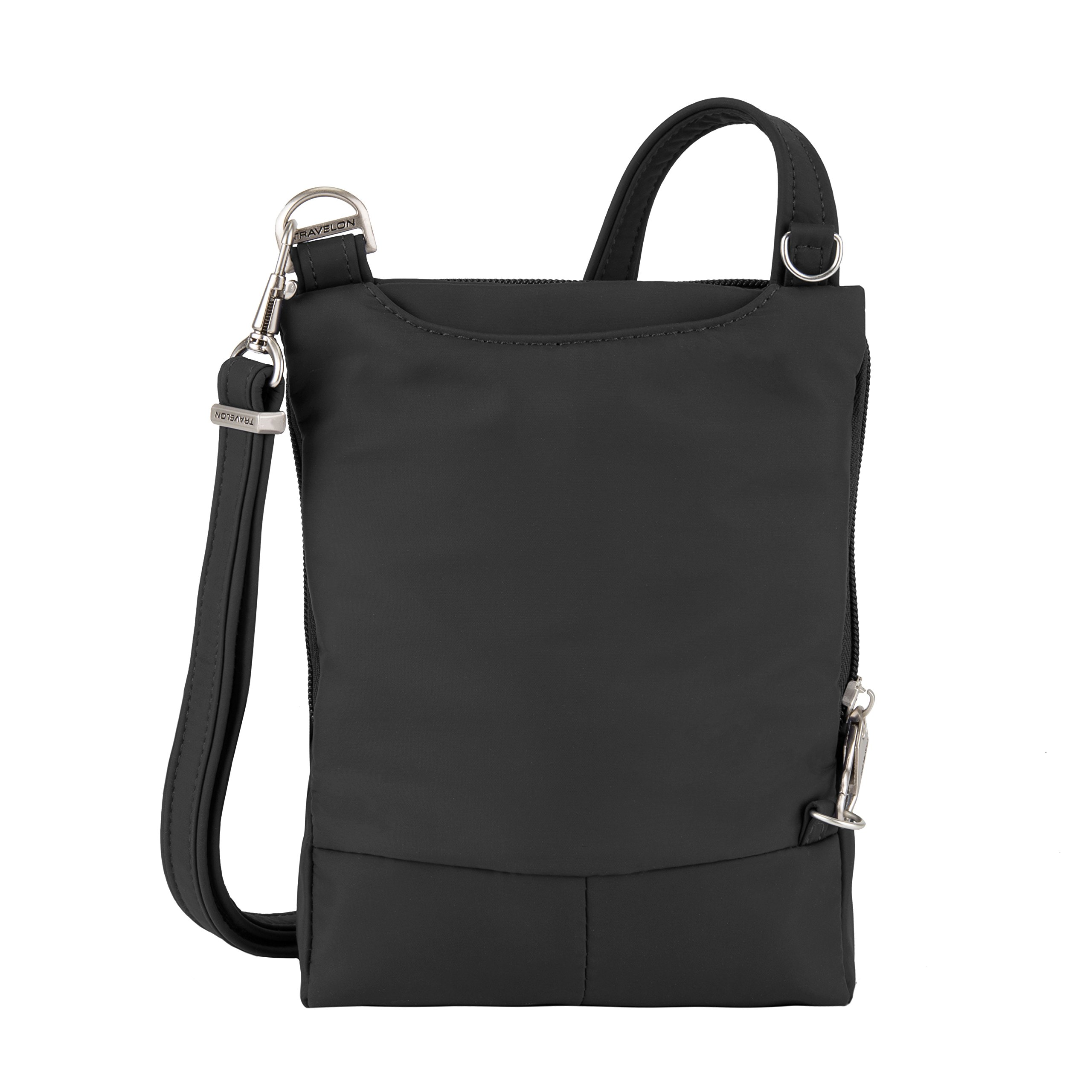 Travelon Anti-Theft Classic Light Mini Crossbody Bag, Black by Travelon (Image #8)