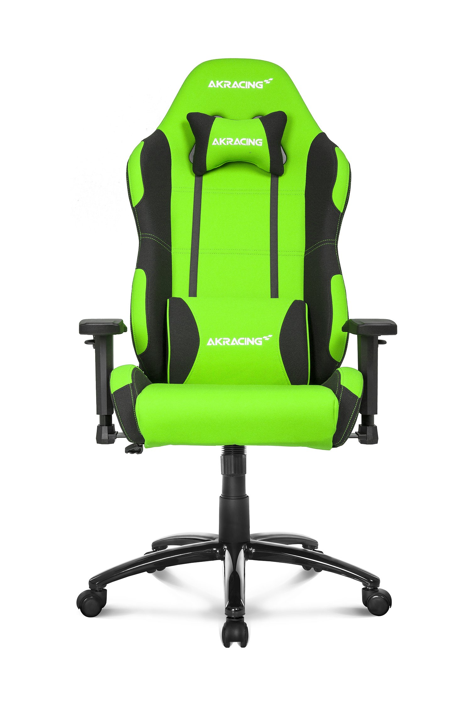 AKRacing Prime Series Premium Gaming Chair with High Backrest, Recliner, Swivel, Tilt, Rocker and Seat Height Adjustment Mechanisms with 5/10 warranty Green