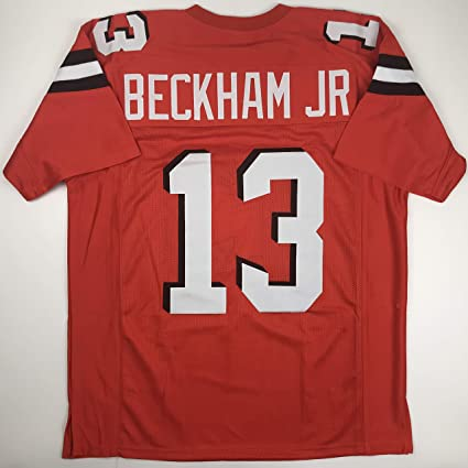fcc2852fe Unsigned Odell Beckham Jr. Cleveland Orange Custom Stitched Football Jersey  Size Men's XL New No