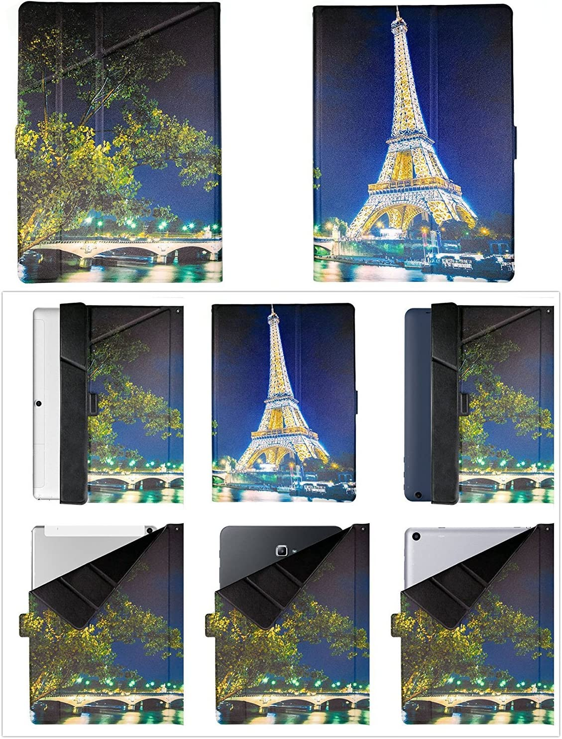 Lovewlb Tablet Custodia per Acer Iconia One 10 B3-A32 Custodia Pelle Stand Case Cover HS