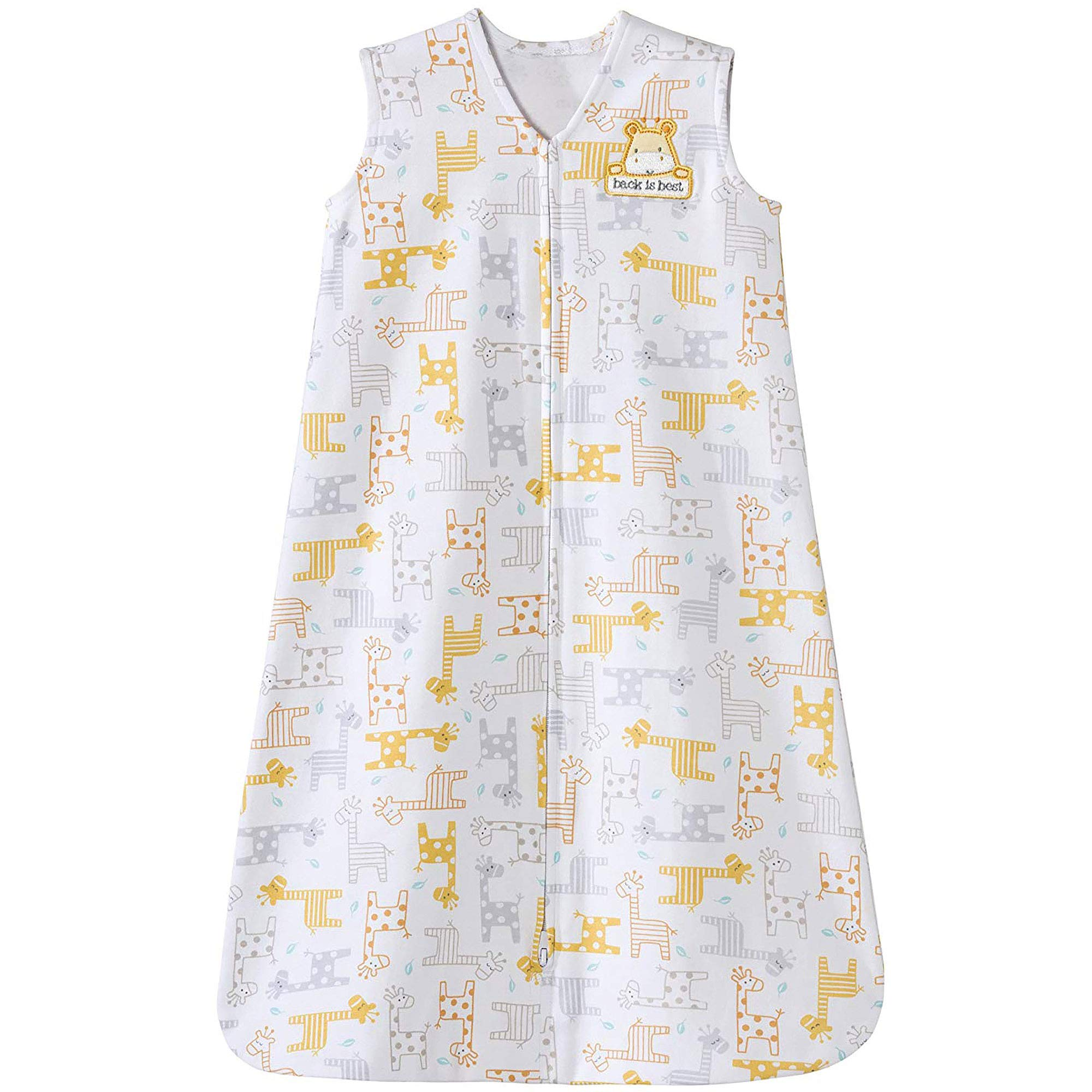 Halo Sleepsack 100% Cotton Wearable Blanket, Giraffe, Medium by Halo