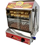 Paragon 8020 Hot Dog Hut Steamer Merchandiser for Professional Concessionaires Requiring Commercial Quality…