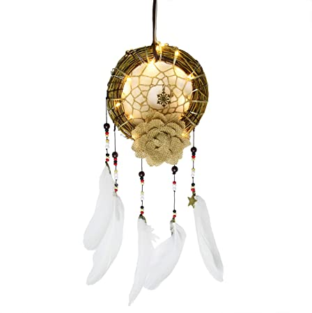 Multi-styles Home Design Handmade Dream Catcher With Rattan Bead Feathers Wall Car Hanging Decoration Ornament Dreamcatcher Home & Garden