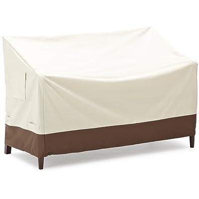 Basics 2-Seater Bench Outdoor Patio Furniture Cover: Garden & Outdoor