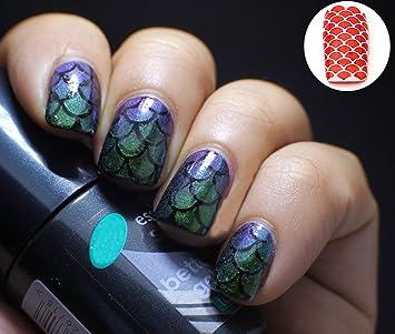 Nail Art Design Nail Vinyls Nail Stencil Sheets Stencil Stickers