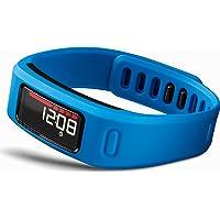 Garmin Vivofit Pulsera de actividad física Bundle con banda de frecuencia cardiaca estándar (HRM1B) Azul