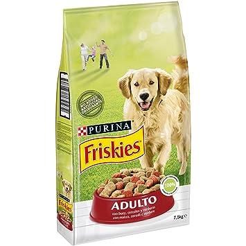 Friskies pienso para el Perro Adulto, con Manzo, Cereales y Verduras aggiunte, 7.5
