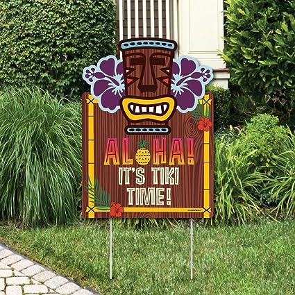 Amazon Com Big Dot Of Happiness Tiki Luau Party Decorations
