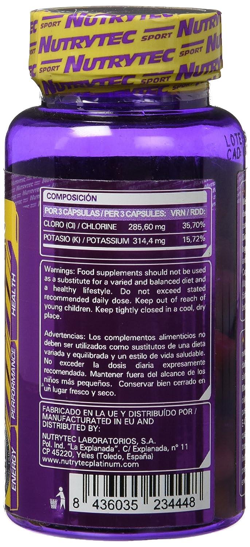 Nutrytec Potasio Platinum - 60 Cápsulas: Amazon.es: Salud y cuidado personal