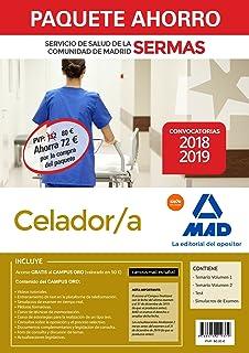 Paquete Ahorro Celador/a Servicio de Salud de la Comunidad de Madrid. Ahorro de